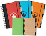 Eco Friendly Spiral Notebooks